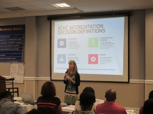 Presentation from Accreditation Commission for Health Care (ACHC)